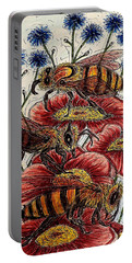 Three Busy Bees Portable Battery Charger