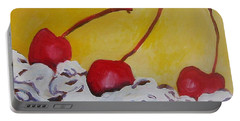 Three Cherries Portable Battery Charger