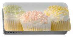 Three Cupcakes Portable Battery Charger