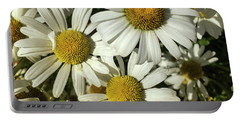 Three Daisies Portable Battery Charger