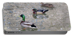 Three Ducks Portable Battery Charger