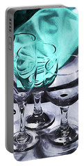 Three Glass Illusion Portable Battery Charger