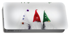 Three Holiday Gnomes 2 Portable Battery Charger