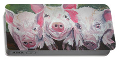 Three Little Pigs Portable Battery Charger