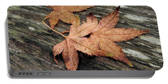 Portable Battery Charger featuring the photograph Three by Peggy Hughes