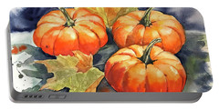 Three Pumpkins Portable Battery Charger