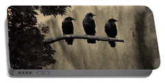 Three Ravens Branch Out Portable Battery Charger