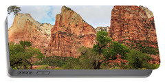 Three Sisters At Zion Portable Battery Charger