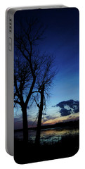 Portable Battery Charger featuring the photograph Three Sisters by Cricket Hackmann