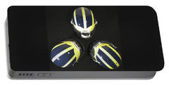 Three Striped Wolverine Helmets Portable Battery Charger