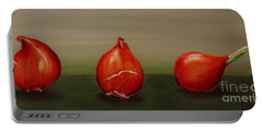Three Tulip Bulbs Portable Battery Charger