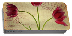 Three Tulips Letter Portable Battery Charger