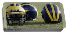 Three Wolverine Helmets Portable Battery Charger