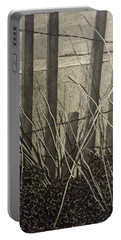 Through The Beach Fence Portable Battery Charger