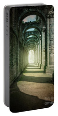 Through The Colonnade Portable Battery Charger