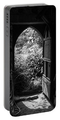 Portable Battery Charger featuring the photograph Through The Door by Clare Bambers