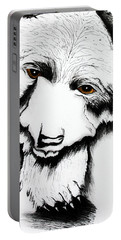 Through The Eyes Of The Bear Portable Battery Charger