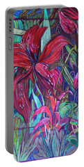Through The Looking Glass Garden Portable Battery Charger