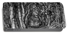Through The Tunnel Bw 16x20 Portable Battery Charger