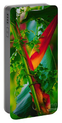 Through The Vines Portable Battery Charger by Pamela Blizzard