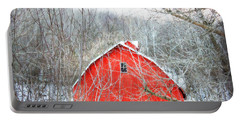 Portable Battery Charger featuring the photograph Through The Woods by Julie Hamilton