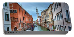 Through Venetian Canals Portable Battery Charger
