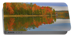 Portable Battery Charger featuring the photograph Thumb Lake by Trey Foerster