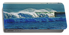 Thunder Of The Waves Portable Battery Charger