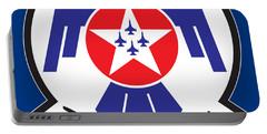 Thunderbirds Logo Portable Battery Charger