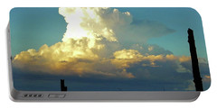 Thunderhead Cloud Portable Battery Charger by Deborah Moen