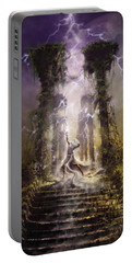 Thunderstorm Wizard Portable Battery Charger