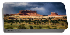 Thunderstorms Approach A Mesa Portable Battery Charger