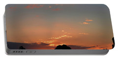 Portable Battery Charger featuring the photograph Thursday Sunset by Mark Blauhoefer