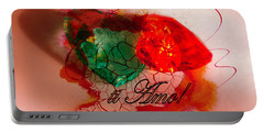 Portable Battery Charger featuring the photograph Ti Amo Too by Richard Ricci