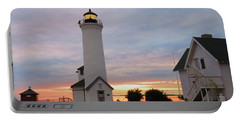 Tibbetts Point Lighthouse, July Sunset Portable Battery Charger