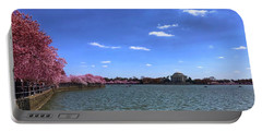 Tidal Basin Cherry Blossoms Portable Battery Charger