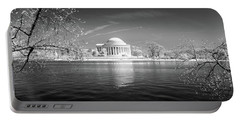 Tidal Basin Jefferson Memorial Portable Battery Charger