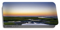 Tidal Pool Sunset Portable Battery Charger