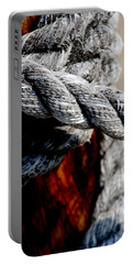 Portable Battery Charger featuring the photograph Tied Together by Susanne Van Hulst