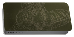 Tiger A Gentle Animal Portable Battery Charger