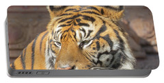 Portable Battery Charger featuring the photograph Tiger by Dart and Suze Humeston