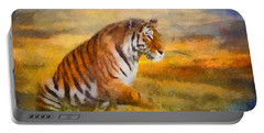 Tiger Dreams Portable Battery Charger by Aimelle