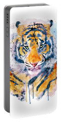 Tiger Face Portable Battery Charger