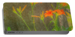 Tiger Lillies #2 Portable Battery Charger