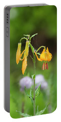 Tiger Lily In Olympic National Park Portable Battery Charger