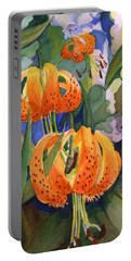 Tiger Lily Parachutes Portable Battery Charger