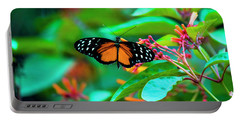 Tiger Longwing Butterfly Portable Battery Charger