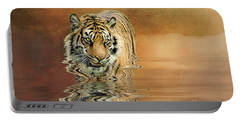 Tiger Reflections Portable Battery Charger