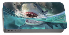 Tiger Sharks Portable Battery Charger