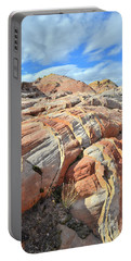 Tiger Stripes In Valley Of Fire Portable Battery Charger